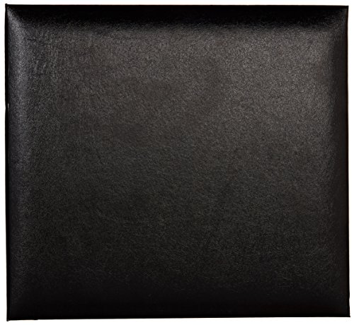 Pioneer MB811-60667 Leatherette Post Bound Album, 8.5-Inch by 11-Inch, Black by Pioneer