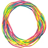 Chewable Jewelry Pain Free Necklace - Fun Sensory Motor Aid - Speech And Communication Aid - Great For Autism And Sensory-Focused Kids - 12 Pack Rainbow Colors