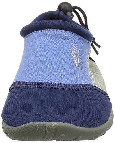 Azul Azul Textil Mocasines Aqua Gumbies Hombre qZ6RII