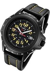 Armourlite ColorBurst  Shatterproof Scratch Resistant Glass Yellow Tritium Watch AL209