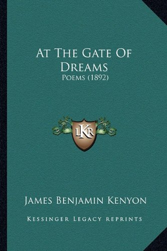 Download At The Gate Of Dreams: Poems (1892) PDF