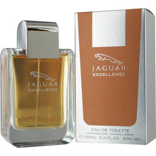 Jaguar Excellence Eau De Toilette Spray for Men, 3.4 - Perfume Jaguar Men For