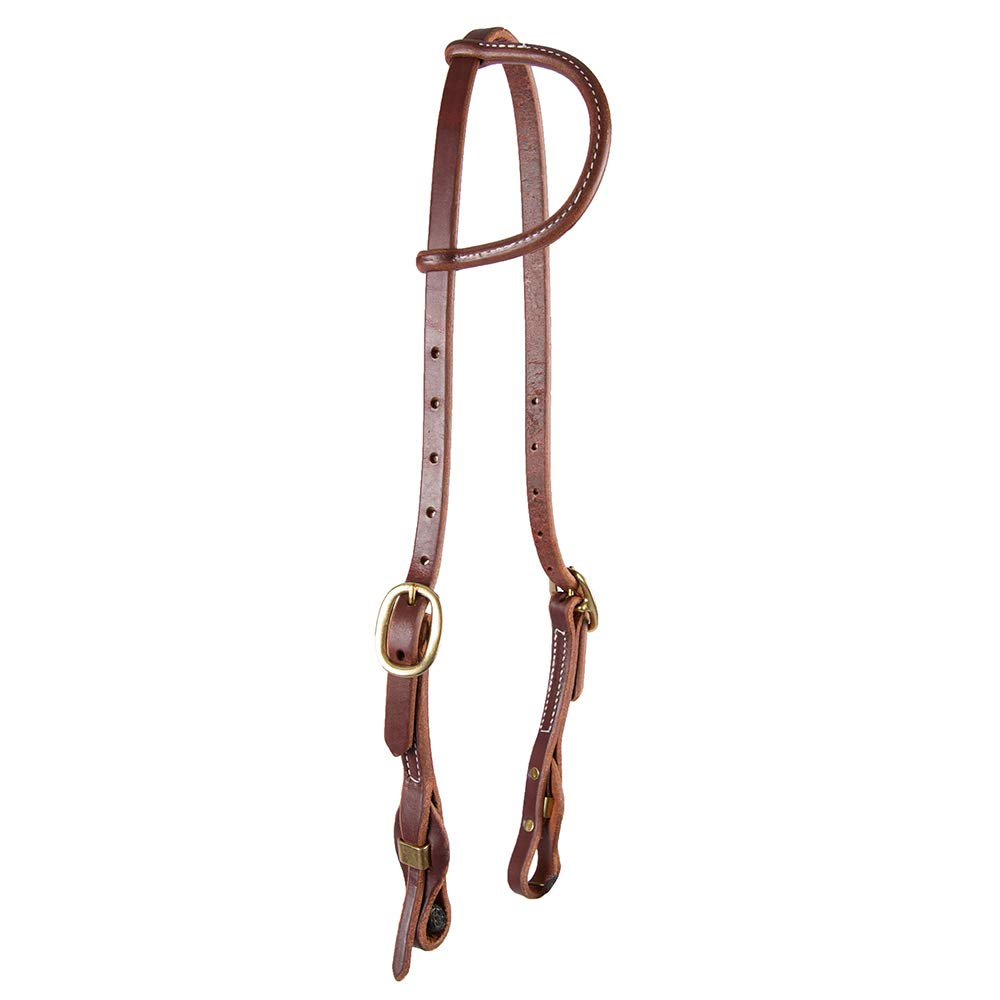 """5//8/""""Weaver Leather ProTack Quick Change Browband horse Headstall Buckle Bit Ends"""