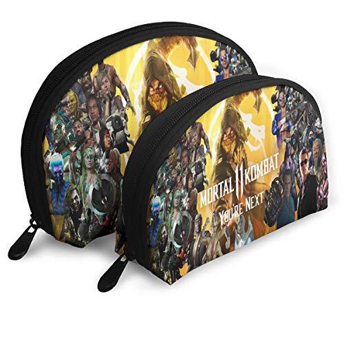 Mortal Kombat 3D Daying Lovely Shell Cosmetic Bag For Women]()