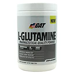 GAT L-Glutamine - Unflavored - 500g (17.6 oz)