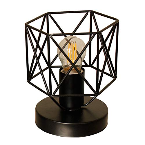 (Magland Retro Industrial Table Lamps Metal Shade UL Certificated (Small))