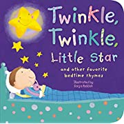 Twinkle, Twinkle, Little Star: And Other Favorite Nursery Rhymes (Padded Nursery Rhyme Board Books)