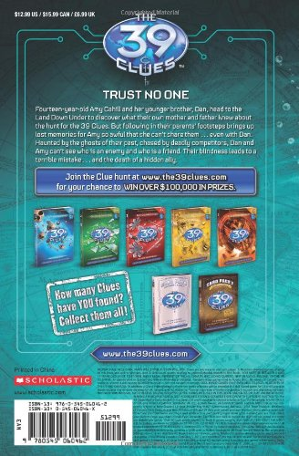 THE 39 CLUES IN TOO DEEP PDF