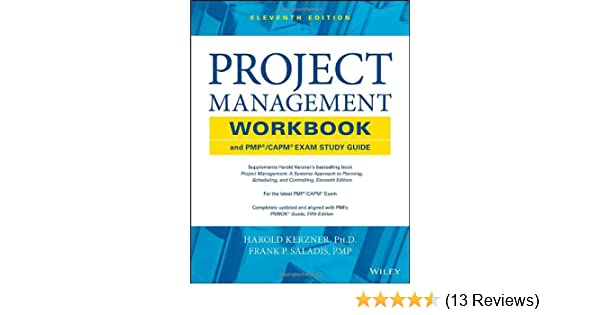 Get e-book Project Management Workbook and PMP / CAPM Exam