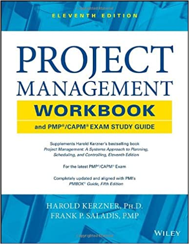 Amazon project management workbook and pmp capm exam study amazon project management workbook and pmp capm exam study guide 9781118552537 harold kerzner frank p saladis books fandeluxe Images