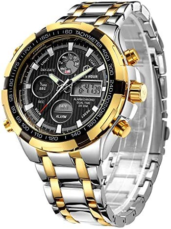 Affute Digital Stainless Chronograph Waterproof product image