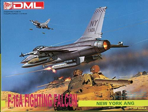 DML Dragon 1:144 F-16A Fighting Falcon Plastic Model Kit -