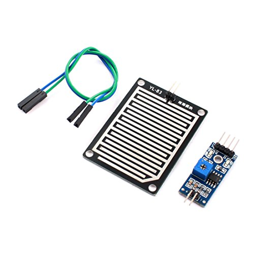 Aexit YL-83 DC 3.5-5V Rain Detection Moisture Sensor PCB Circuit Module (Sensor Rain Circuit)