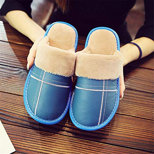 Women Indoor Blue And Outdoor Comfortable Night onwinter Shoes nbsp;house Slippers Shoes Cotton Wall Warm amp; Slip Men zxqgqI4wa