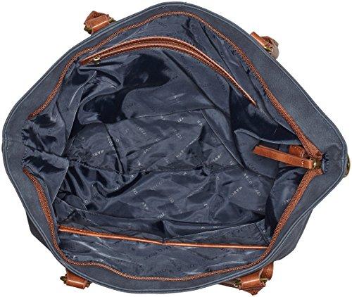 Marco Tozzi 61022 - Borse a spalla Donna, Blau (Ocean Ant.comb), 47x31x15 cm (B x H T)