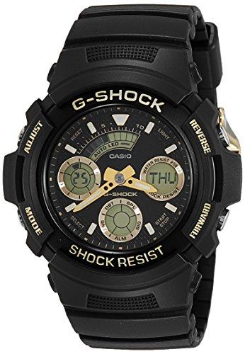 Casio AW591GBX-1A9 Black Silicone Quartz Fashion Watch