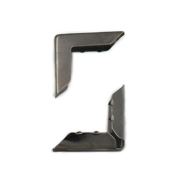 Fujiyuan 100 pcs 15mm 5//8 Albums Book Corner Protectors for Scrapbooking File Folder Menu Nickel