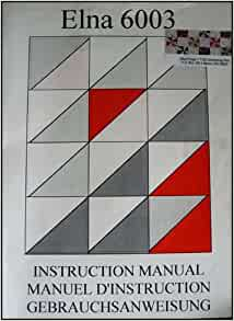 elna elina 40 instruction manual free