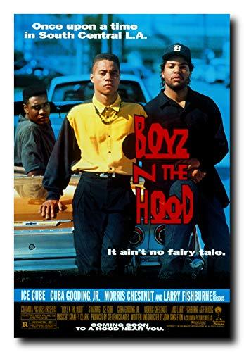 Mile High Media Boyz N The Hood Movie Poster 24x36 Inch Wall Art Portrait Print