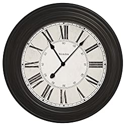 24 Large decorative wall clock 32213VBK
