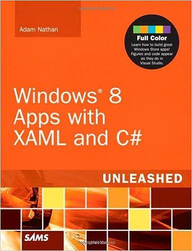 Descargando ebooks a ipad gratisWindows 8 Apps with XAML and C# Unleashed (Spanish Edition) PDF FB2