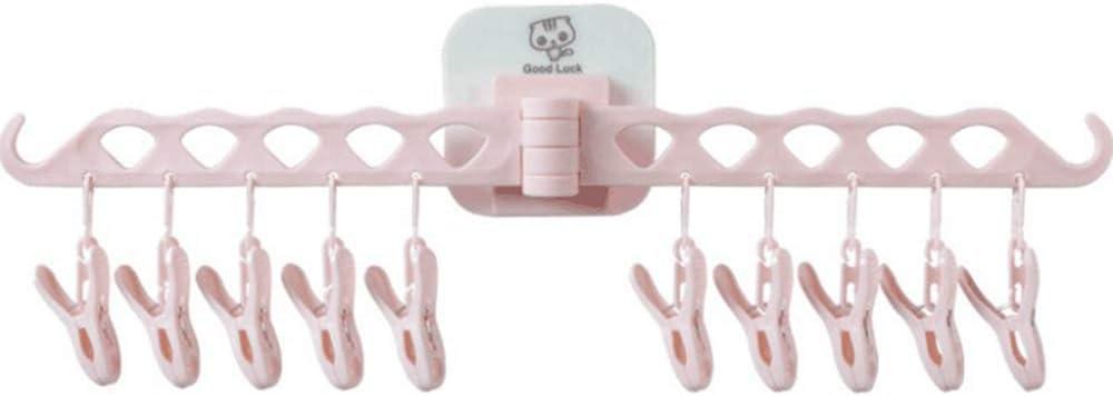 Suspensión plegable Colgante Rack de secado Hogar Multifuncional Plástico Plástico Portátil Interior Aire libre Secador de ropa Ropa de cama para guantes Ropa interior Sujetadores