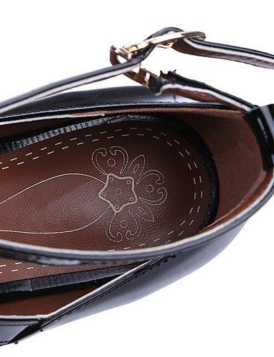 piel zapatos de PDX tal mujer charol de xwaxIB