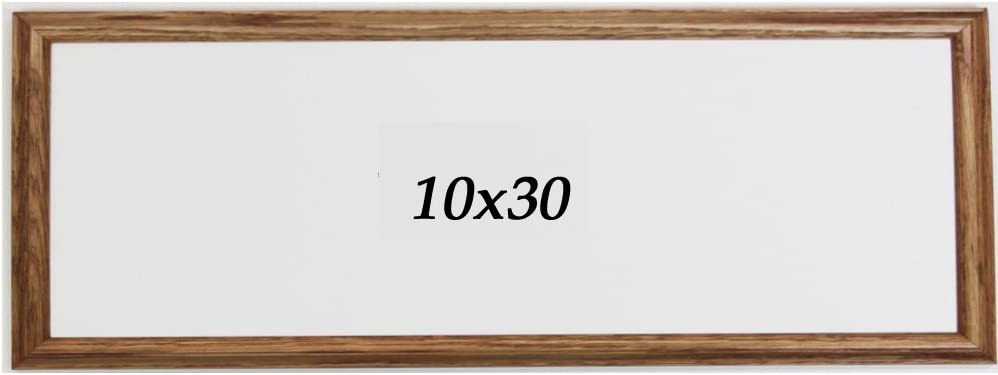 Amazon Com Panoramic Oak 10x30 Picture Frame