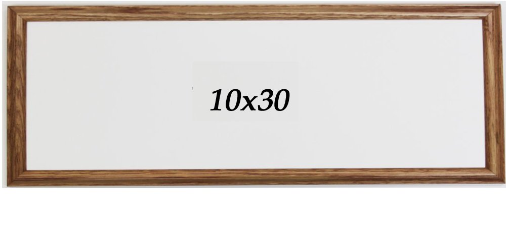 Amazon.com - Panoramic Oak 10x30 Picture Frame -