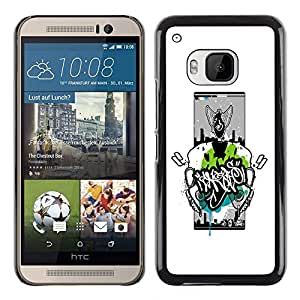 Impact Case Cover with Art Pattern Designs FOR HTC One M9 Abstract Graphiti Betty shop