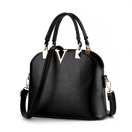 andee-womens-fashionable-noble-style-pure-color-leather-shoulder-bags-handbagblack