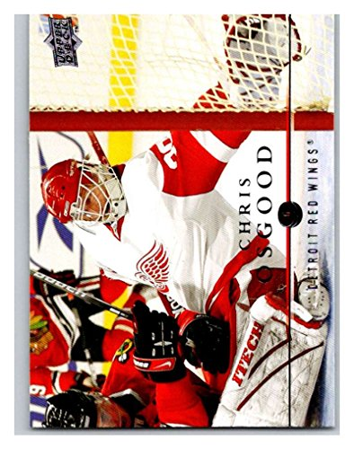 2008-09 Upper Deck #129 Kris Draper Red - Kris Wings Red Draper