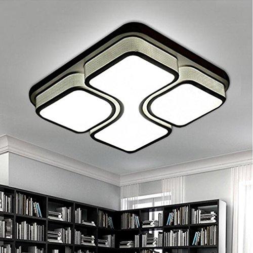 ETiME 48W Design LED Deckenlampe Led Deckenleuchte Wohnzimmer Lampe ...