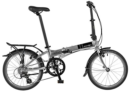 Big Save! Dahon Mariner D8 Folding Bicycle Quicksilver