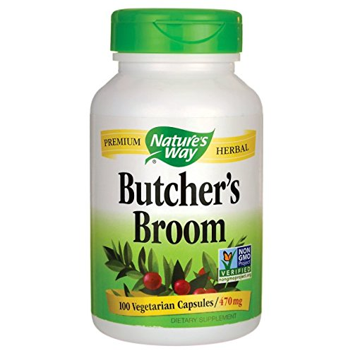 's Broom 470 mg, 100 Vcaps, 100 Count (Butchers Broom)