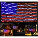 Puhong American Flag 420 LED String Lights Super Bright LED's