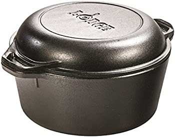 Lodge 5-Quart Double Dutch Oven (L8DD3)