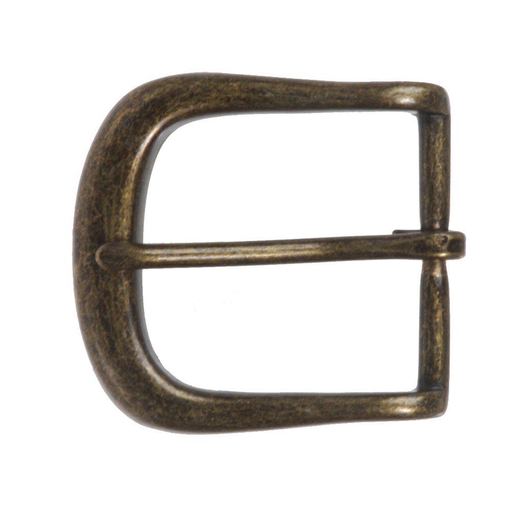 Beltiscool - Fibbia da cintura a forma di ferro di cavallo, da uomo, 40 mm 40 mm Brass Taglia unica 219240:A00E