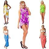 1 World Sarongs Womens Pot Luck Grab Bag of Sarong 1 Sarong picked - Brighter