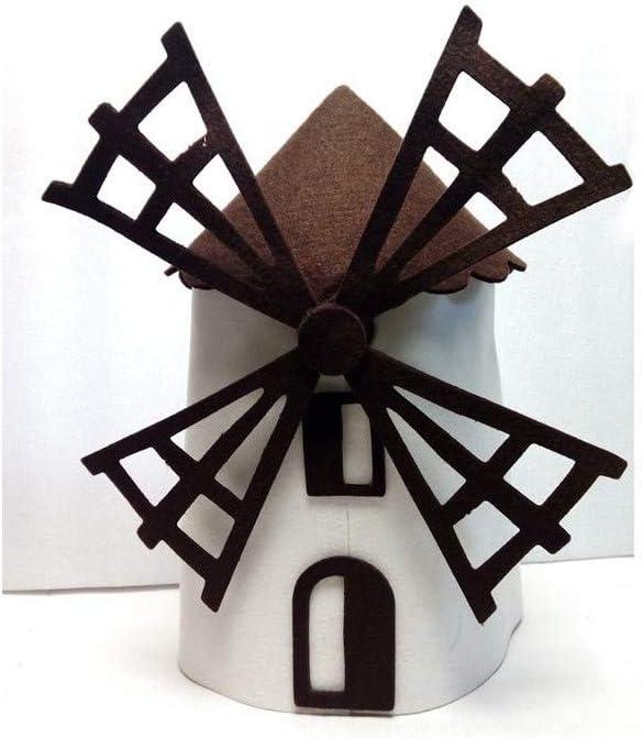 DISBACANAL Sombrero Molino de Viento: Amazon.es: Juguetes y juegos