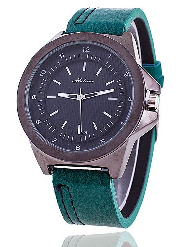 Use Mens Watch Mitina Mitina Mens Sport Watch Leather Outdoor Leisure Male Ladies Quartz Watch ,