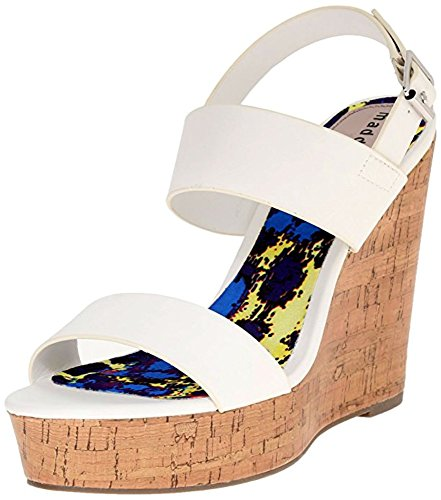 Talon Elemennt Wedge De La Fille De Madden, (blanc Paris, 9.5 M Us)