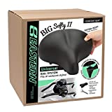 Big Soft Large Wide and Fat Cushion Bike Seat Available with or Without Custom Gel Seat Cover.