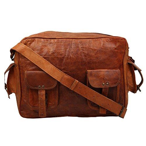Desert Town - Bolso al hombro para hombre marrón marrón