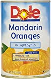 #10: Dole Canned Fruit, Mandarin Oranges, Whole Segments In Light Syrup, 15 oz
