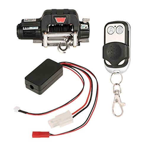 Baoblaze RC Crawler Winch Wireless Control Remote Receiver for 1/10 HSP Redcat RC4WD
