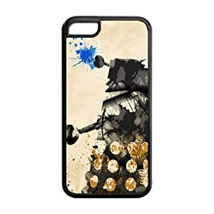 Hot TV Custom cover Doctor Who TPU Case Back Cover For Iphone 5c iphone5c-NY117 by supermalls