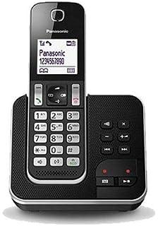 9d7357217c4 Panasonic KX-TGD320 - Teléfono Inalámbrico Digital con Contestador (LCD,  Identificador de Llamadas