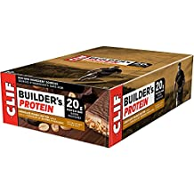 CLIF BUILDER'S - Protein Bar - Chocolate Peanut Butter - (68 Gram Non-GMO Bar, 12 Count)