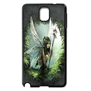 Samsung Galaxy Note 3 Case Fairy Cute Sexy Girl Green Black Yearinspace YS366601